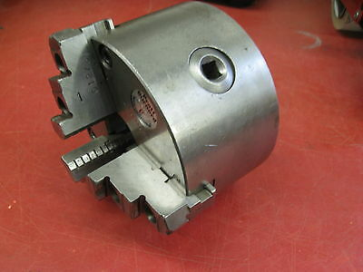 """PBA 5"""" 3 Jaw Chuck for Engine Lathe D1-3 Mount"""