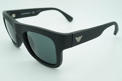 Emporio Armani Sunglasses EA4019 5063/87 Black W/ Grey