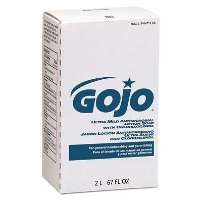 Gojo 2000 mL Unscented Lotion Hand Soap Refill, 2212