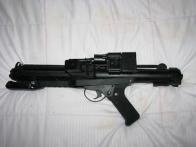 AEG Sterling Airsoft to Storm Trooper E-11 Blaster Rifle kit 3D Printed ABS