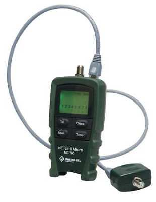 GREENLEE COMMUNICATIONS NC-100 NetCat 100 Cable Tester, VDV Wiring
