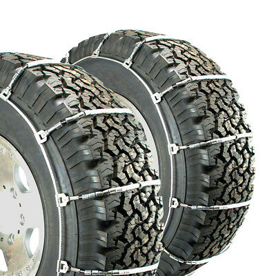 Titan Snow Light Truck Highway Use Cable Tire Chains fits 245-75R16