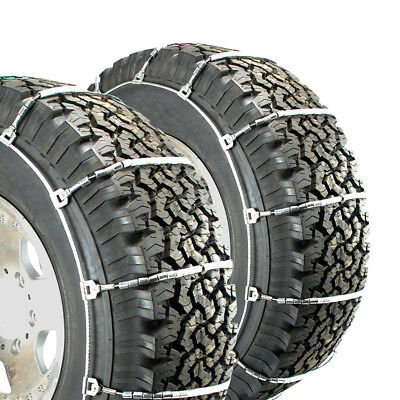 Titan Snow Light Truck Highway Use Cable Tire Chains fits 265-75R16
