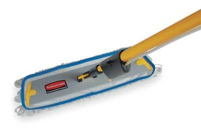 RUBBERMAID FGQ80500WH00 Flow Flat Mop, White, 18 In. L, 5 In. W