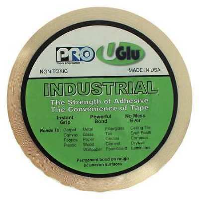 UGLU MTR7565 Instant Adhesive, 3/4In x 65 ft., Amber