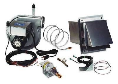 TJERNLUND VP-3F Water Heater Vent Package, 115 V, 4 In