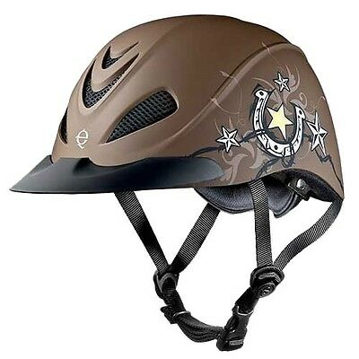 TROXEL - Unisex Rebel Equestrian Helmet - Star - 04-277 - New