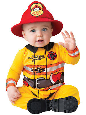 Fearless Firefighter Fireman Baby Infant Toddler Child Costume NEW