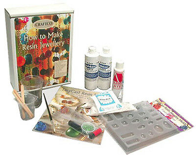 How to Make Resin Jewellery Kit Jewelry/plastic/craft