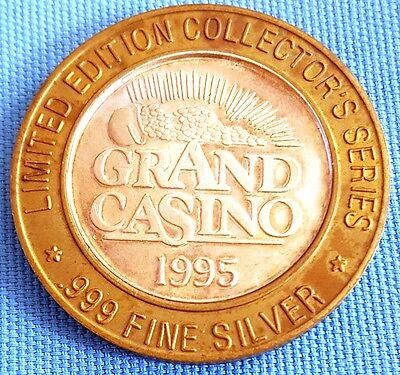 1995 grand casino limited edition collectors series