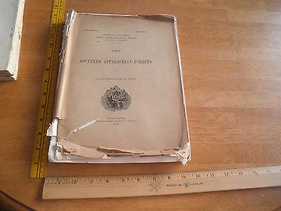 Forest Conditions Southern Appalachian 1905 US Geological Survey 289pgs Ayres