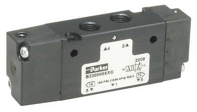 PARKER B531000XXC Valve, Air Pilot, 4 Way, 1/4 In Port