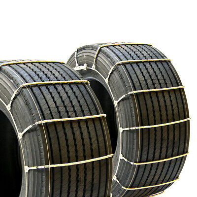 Titan Snow Wide Base Truck Cable Chains fits 445/50R22.5