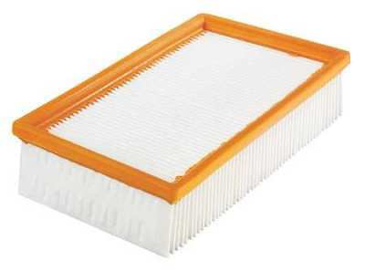 BOSCH VF110 Dust Extractor Filter,Flat Pleated PES