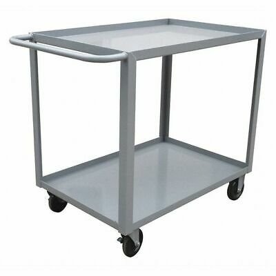 Utility Cart,Steel,42 Lx24 W,1200 lb. ZORO SELECT 9GEY9