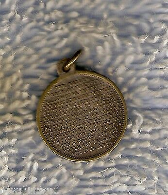 #d198.  King  George V  /  The Lord's  Prayer Pendant
