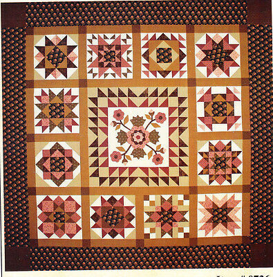 SALE - A Mother's Love - pieced & applique quilt PATTERN - Lori Smithl