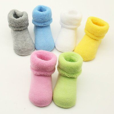Newborn Baby Girl Boys Winter Warm Boots Toddler Infant Soft Sock Shoes Booties