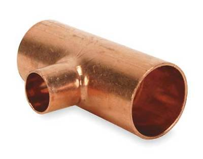 "1"" x 1"" x 3/4"" NOM C Copper Reducing Tee NIBCO 611 1X1X3/4"