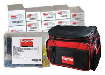 HVAC Contractor Service Kit, 21Pcs DAYTON 19L413