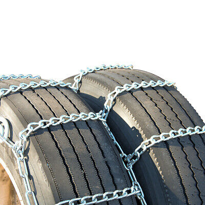Titan Tire Chains Dual/Triple CAM On Road Snow/Ice 7mm 255/70-22.5