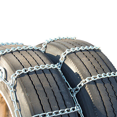 Titan Tire Chains Dual/Triple CAM On Road Snow/Ice 7mm 295/75-22.5