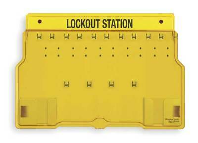 MASTER LOCK 1483B Lockout Station,Unfilled,15-1/2 In H