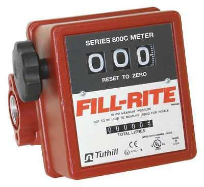 FILL-RITE 807CL1 Meter, 1 in.MNPT
