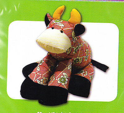 PATTERN - Patty the Cow - cute softie toy PATTERN - Funky Friends Factory