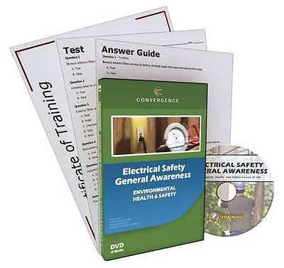 CONVERGENCE TRAINING 105 Electrical Safety General Awareness, DVD