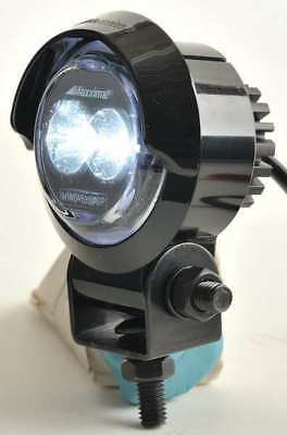 MAXXIMA MWL-10SP-SM Work Light,Round,LED,12VDC,2 In Dia