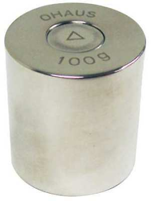 OHAUS 80850124 Calibration Weight,100g,Stainless Steel