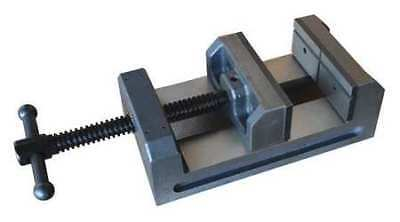 """DAYTON 3W761 4"""" Drill Press Vise with Fixed Base"""