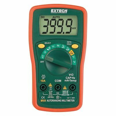EXTECH MN36 Mini Digital Multimeter,600V