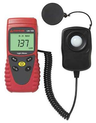 AMPROBE LM-100/WWG Light Meter, 0 to 20, 000Fc