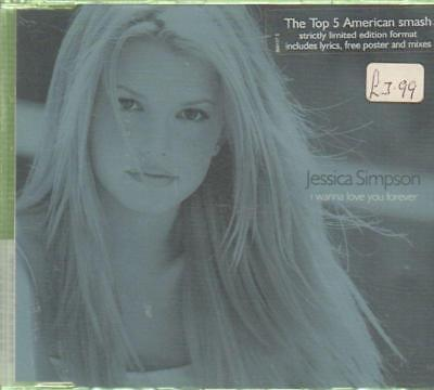 Jessica Simpson(CD Single)I Wanna Love You Forever--New