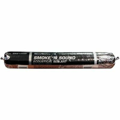 Smoke and Acoustical Caulk,20 oz.,White