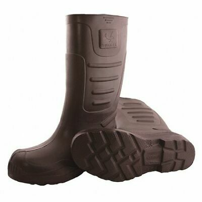 """Airgo Boots, Size  10, 15"""" Height, Brown, Plain, PR TINGLEY 21144"""
