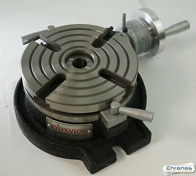 TS160A 150 mm Horizontal Rotary Table for Milling Machine from Chronos