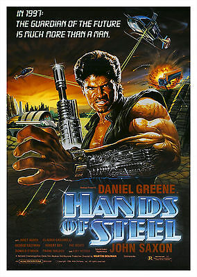 Hands of Steel (1986) - A1/A2 POSTER **BUY ANY 2 AND GET 1 FREE OFFER**