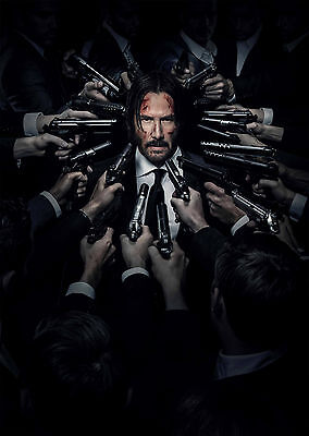 John Wick: Chapter 2 (2017) V2 - A1/A2 POSTER **BUY ANY 2 AND GET 1 FREE OFFER**