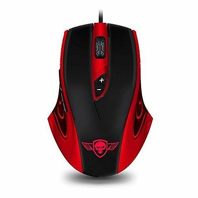 Souris gaming Spirit of Gamer Elite-M5 9 boutons, 3200DPI, 1000Hz. NEUF