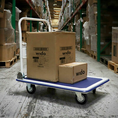 Wido 360KG HEAVY DUTY FOLDING PLATFORM HAND SACK TROLLEY TRUCK CART BARROW