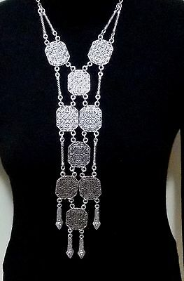 Turkish Made Silver Plated Necklace S0089