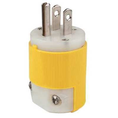HUBBELL WIRING DEVICE-KELLEMS HBL52CM66C 3 Wire Industrial Straight Blade Plug