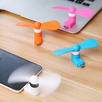 Portable Android Phone Super Mute USB Cooler Micro Mini Fan For Smartphones HOT