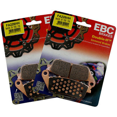 EBC FA226HH Sintered Full Front Brake Pad Set Triumph Tiger 800 ABS 11-13