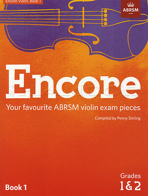 Encore Violin Book 1 Grades 1 & 2 Classical Sheet Music ABRSM Exam Pieces
