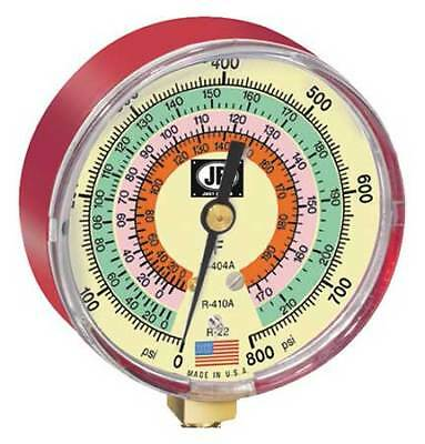 JB INDUSTRIES M2-825 3-1/8 In Glow-In-The Dark Pressure Gauge