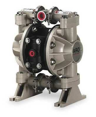 ARO 666053-388 Double Diaphragm Pump, Polypropylene, Air Operated, Urethane, 13